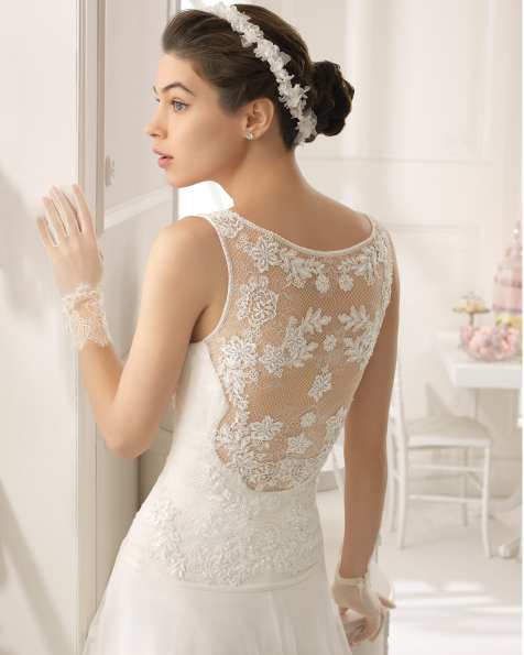 Abad vestido de novia Aire Barcelona