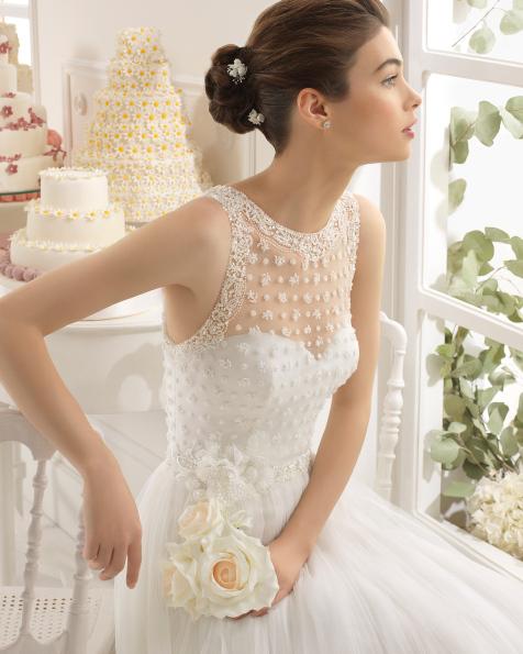 Abelia vestido de novia Aire Barcelona