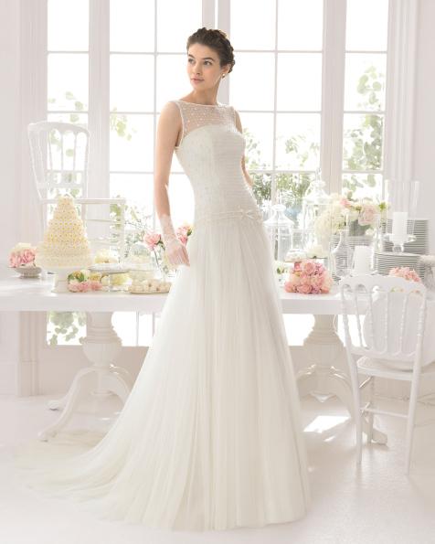 Abigail vestido de novia Aire Barcelona