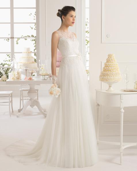 Abril vestido de novia Aire Barcelona
