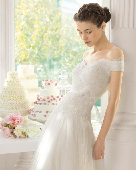 Acay vestido de novia Aire Barcelona