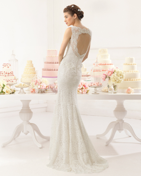 Adeline vestido de novia Aire Barcelona
