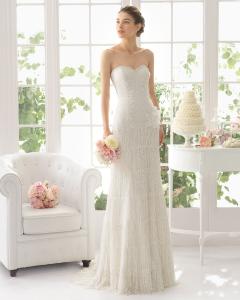 Adriana vestido de novia Aire Barcelona
