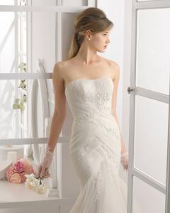 Alejandra vestido de novia Aire Barcelona