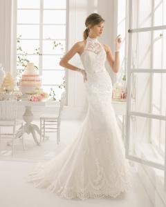 Altar vestido de novia Aire Barcelona