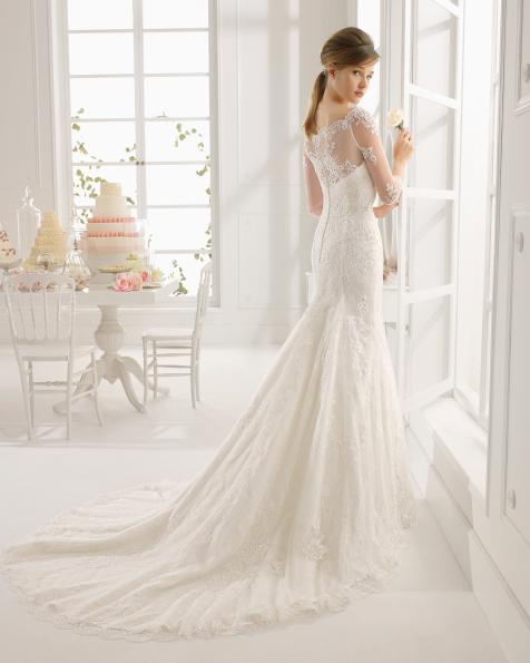 Amar vestido de novia Aire Barcelona
