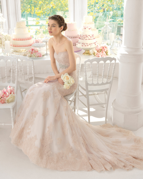 Amelie vestido de novia Aire Barcelona