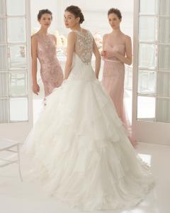 Anand vestido de novia corte A