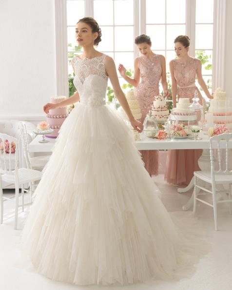 Ansel vestido de novia Aire Barcelona
