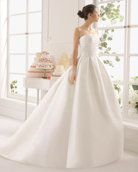 Arce vestido de novia Aire Barcelona