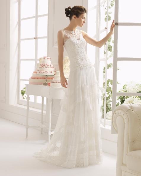 Aro vestido de novia Aire Barcelona