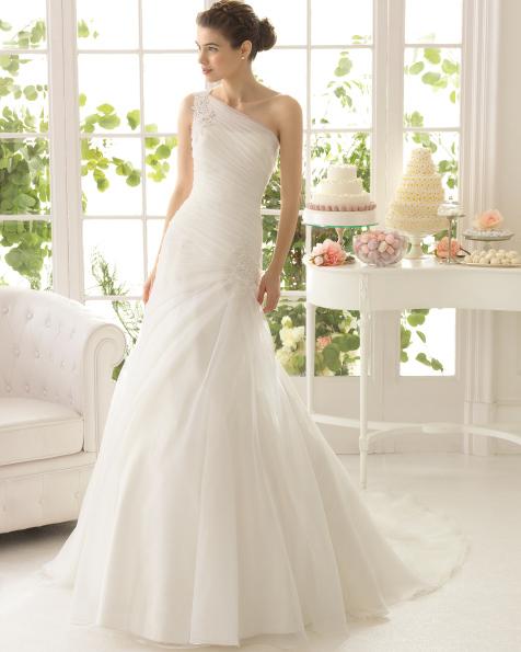 Artemisa vestido de novia Aire Barcelona