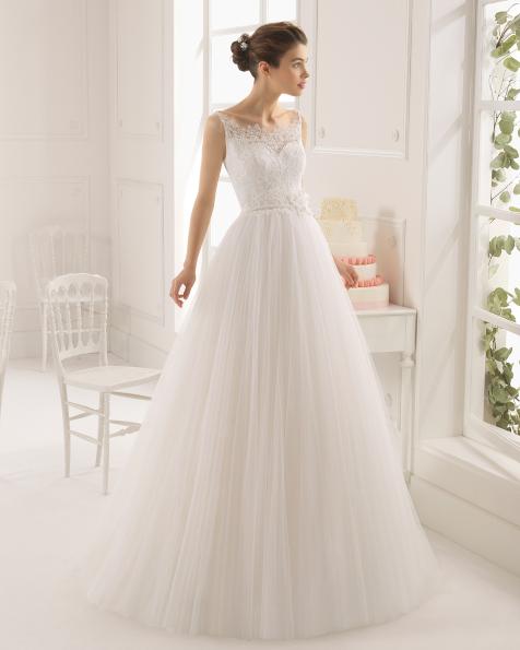 Astrid vestido de novia Aire Barcelona