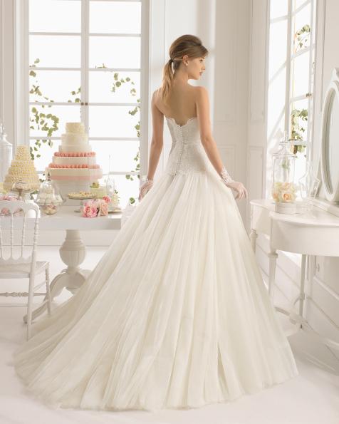 Atenea vestido de novia Aire Barcelona