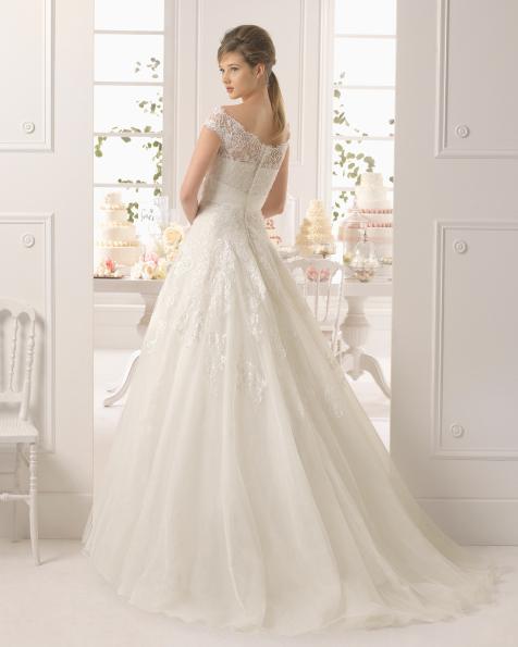 Ayamonte vestido de novia Aire Barcelona