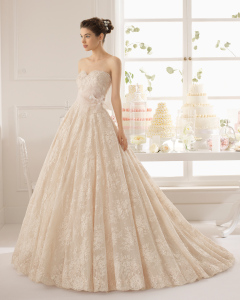 Azuzena vestido de novia Aire Barcelona