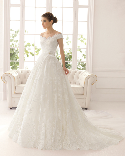 Azzaro vestido de novia Aire Barcelona