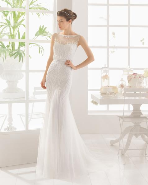MACAO vestido de novia de Aire Barcelona 2016