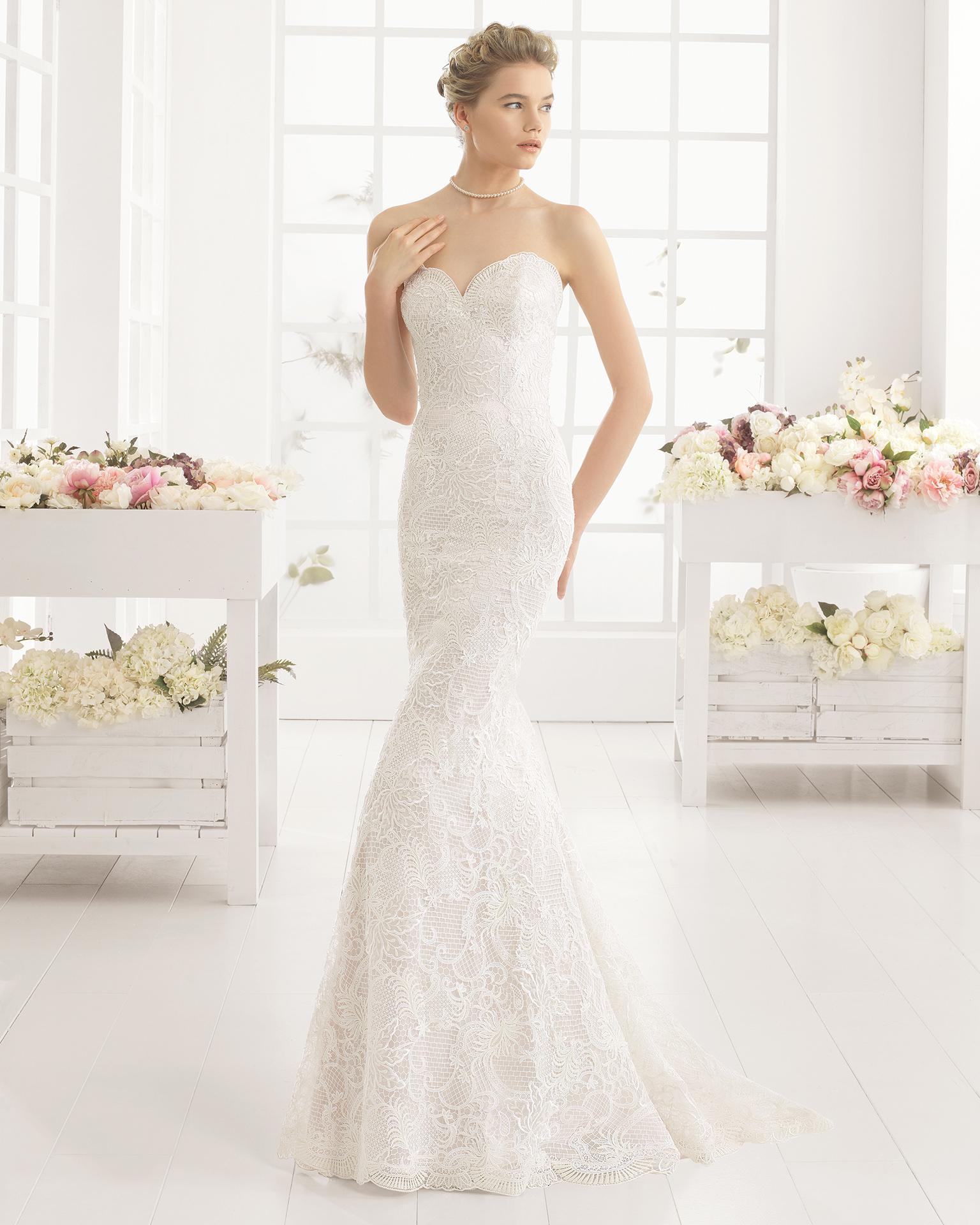 MALORY wedding dress - Aire Barcelona 2016.