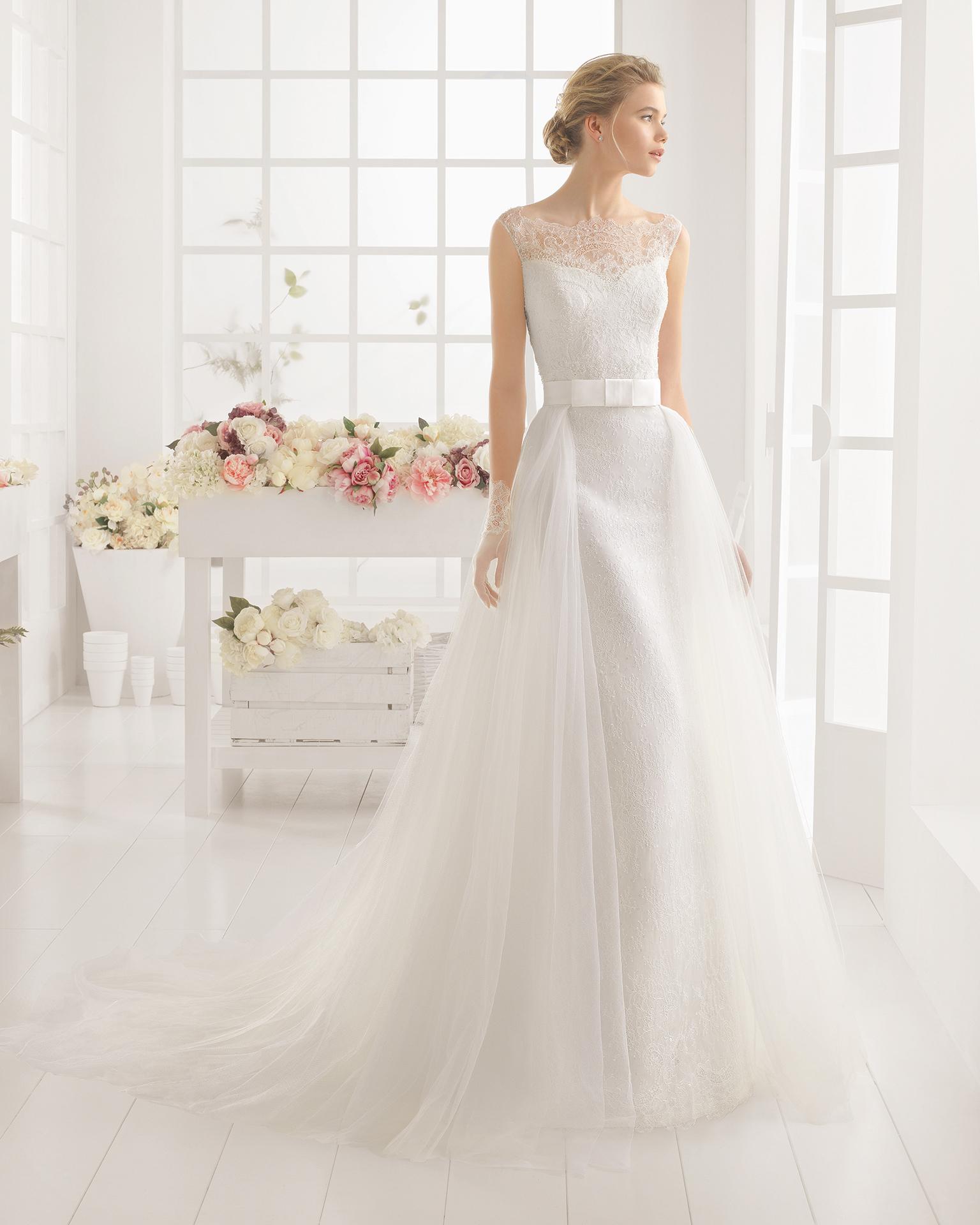 MARQUESA Hochzeitskleid - Aire Barcelona 2016.