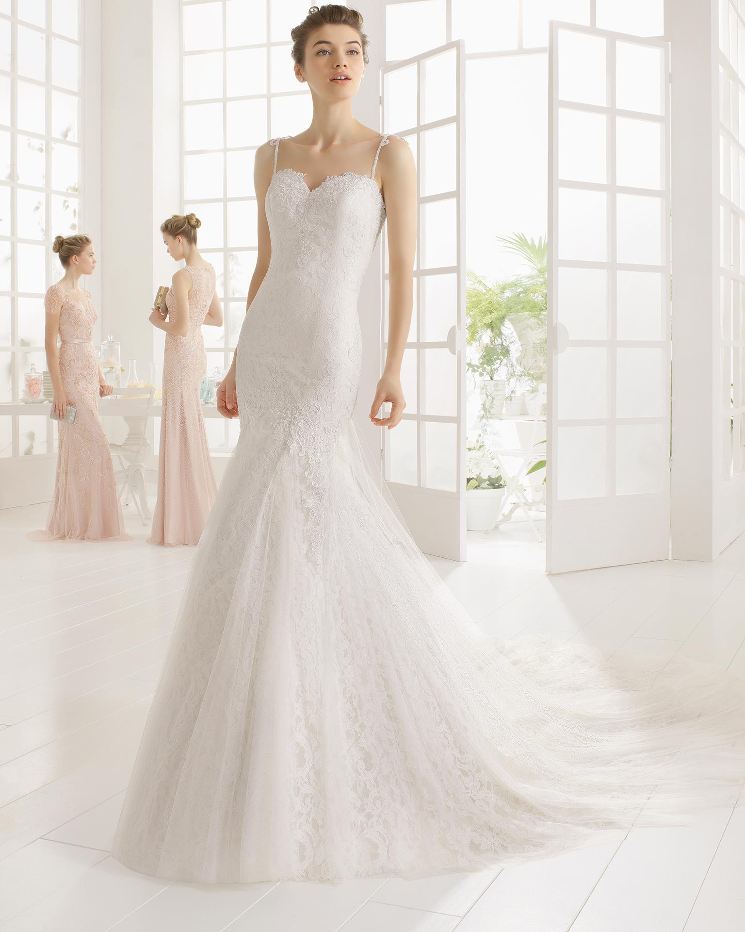 MARTA wedding dress - Aire Barcelona 2016.