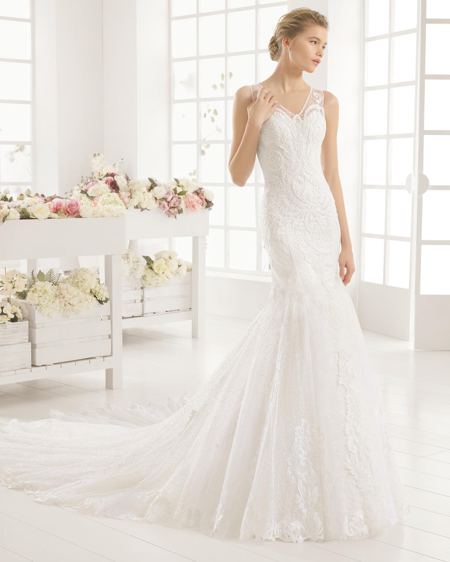 MARTINA wedding dress - Aire Barcelona 2016.