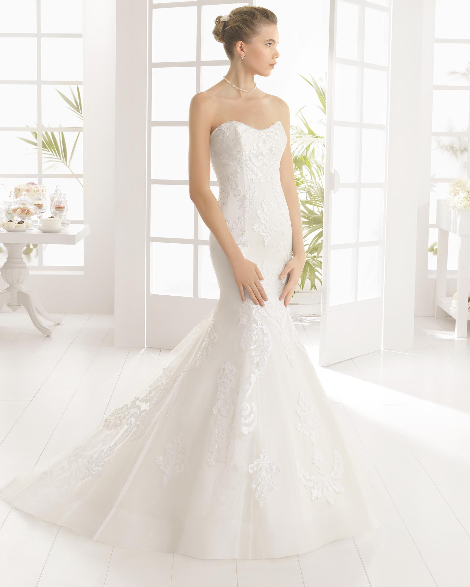 MARYS beaded lace wedding dress.