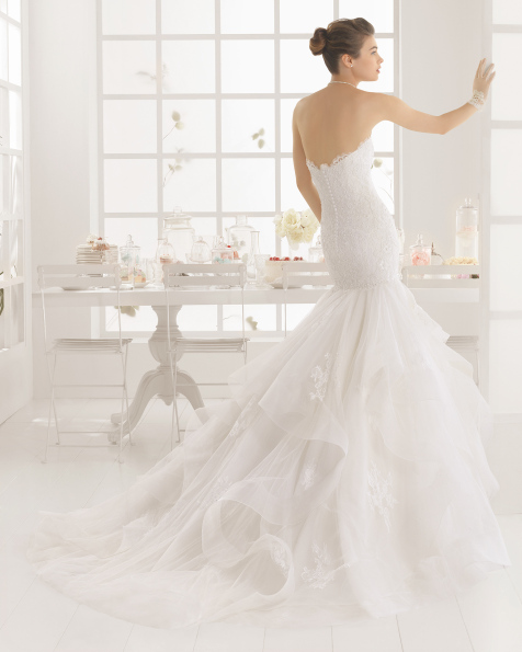MEDIEVAL vestido de novia de Aire Barcelona 2016