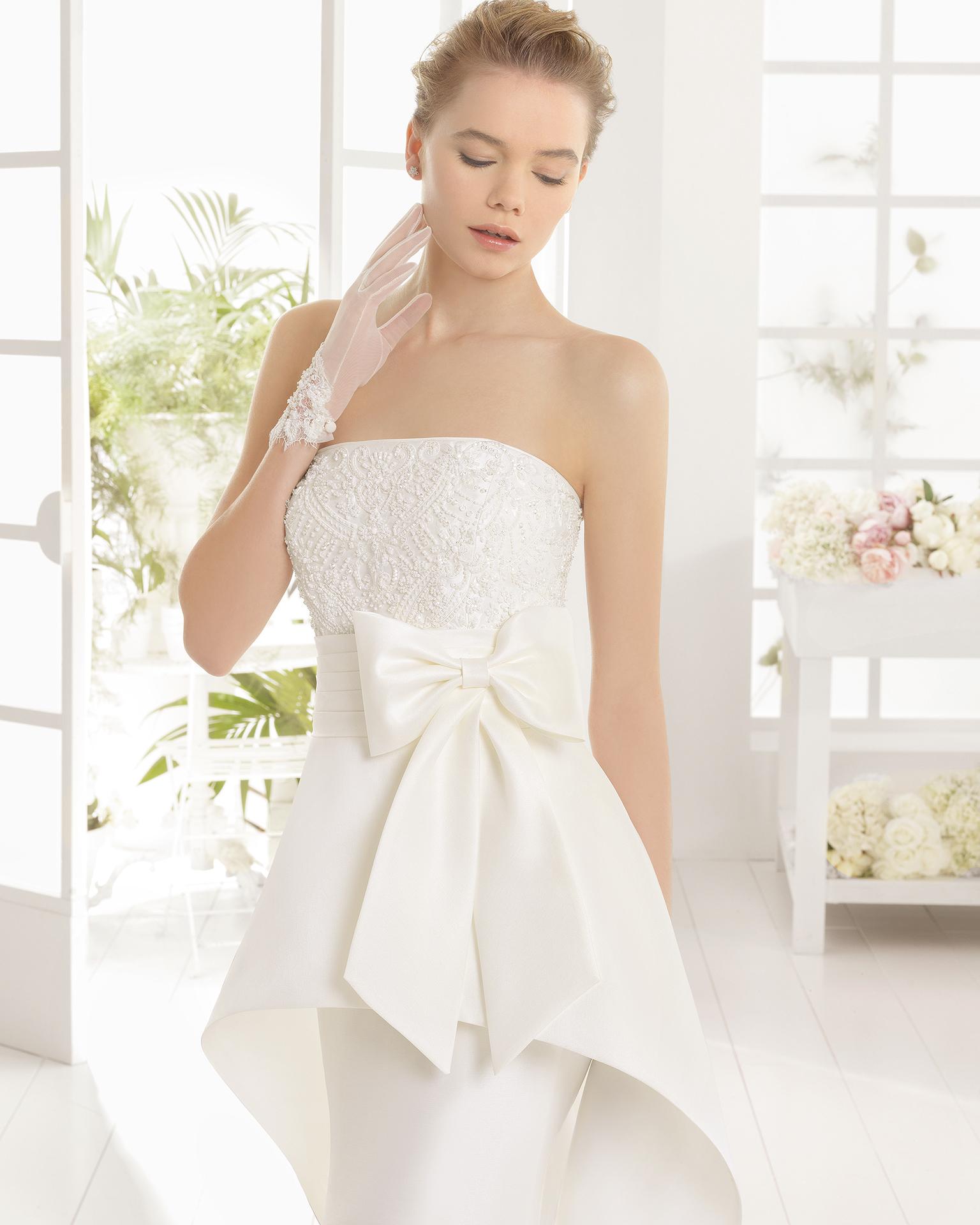 MENINA Hochzeitskleid - Aire Barcelona 2016.