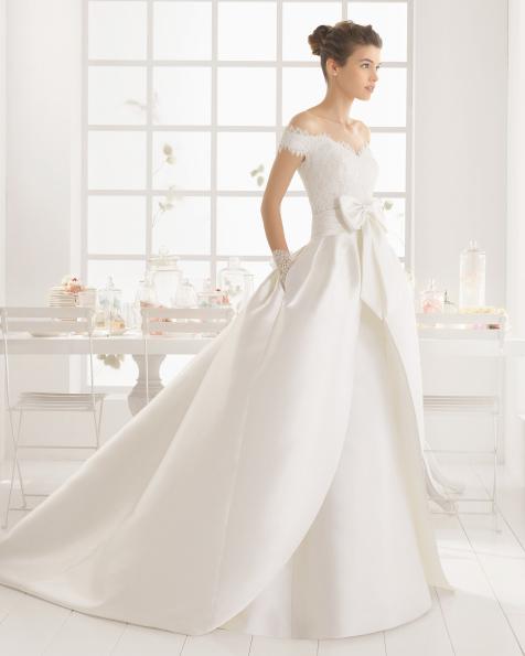 MENTA vestido de novia de Aire Barcelona 2016