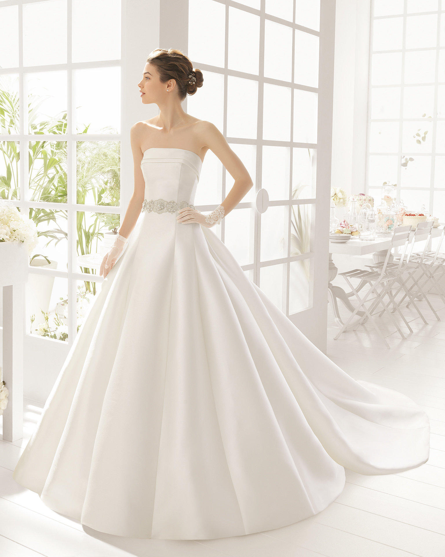 MERLIN wedding dress - Aire Barcelona 2016.