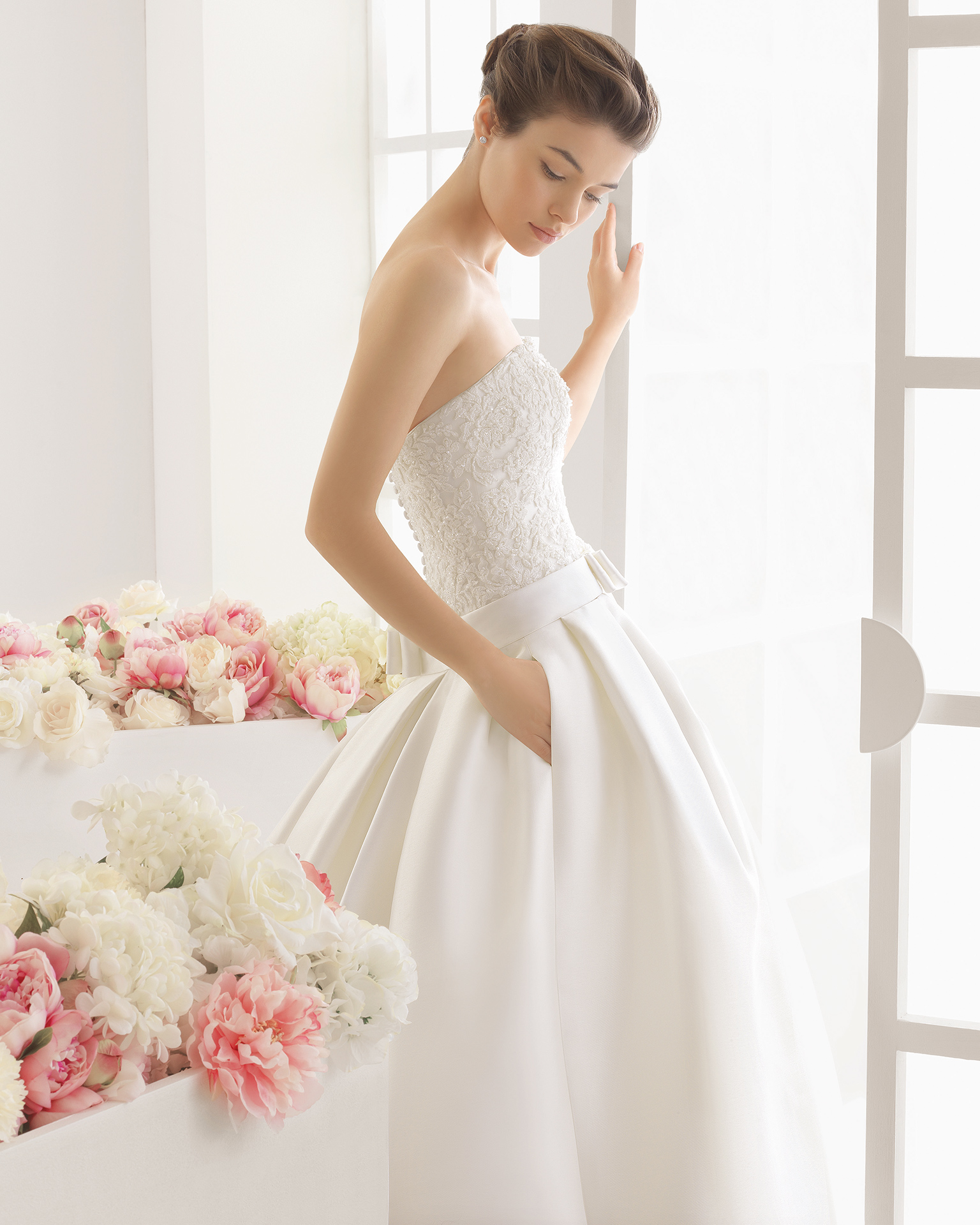 MICHELE wedding dress - Aire Barcelona 2016.