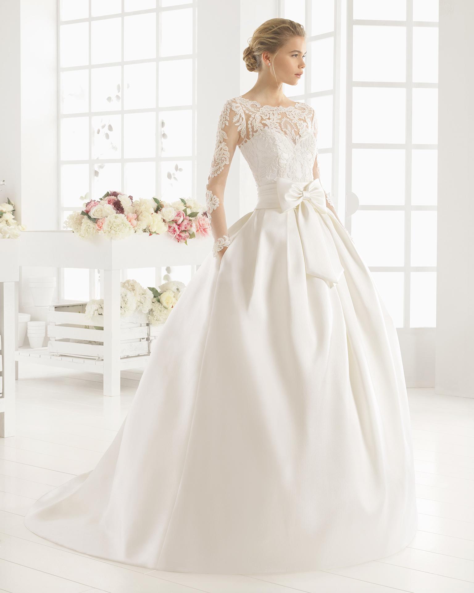 MIDAS wedding dress - Aire Barcelona 2016.