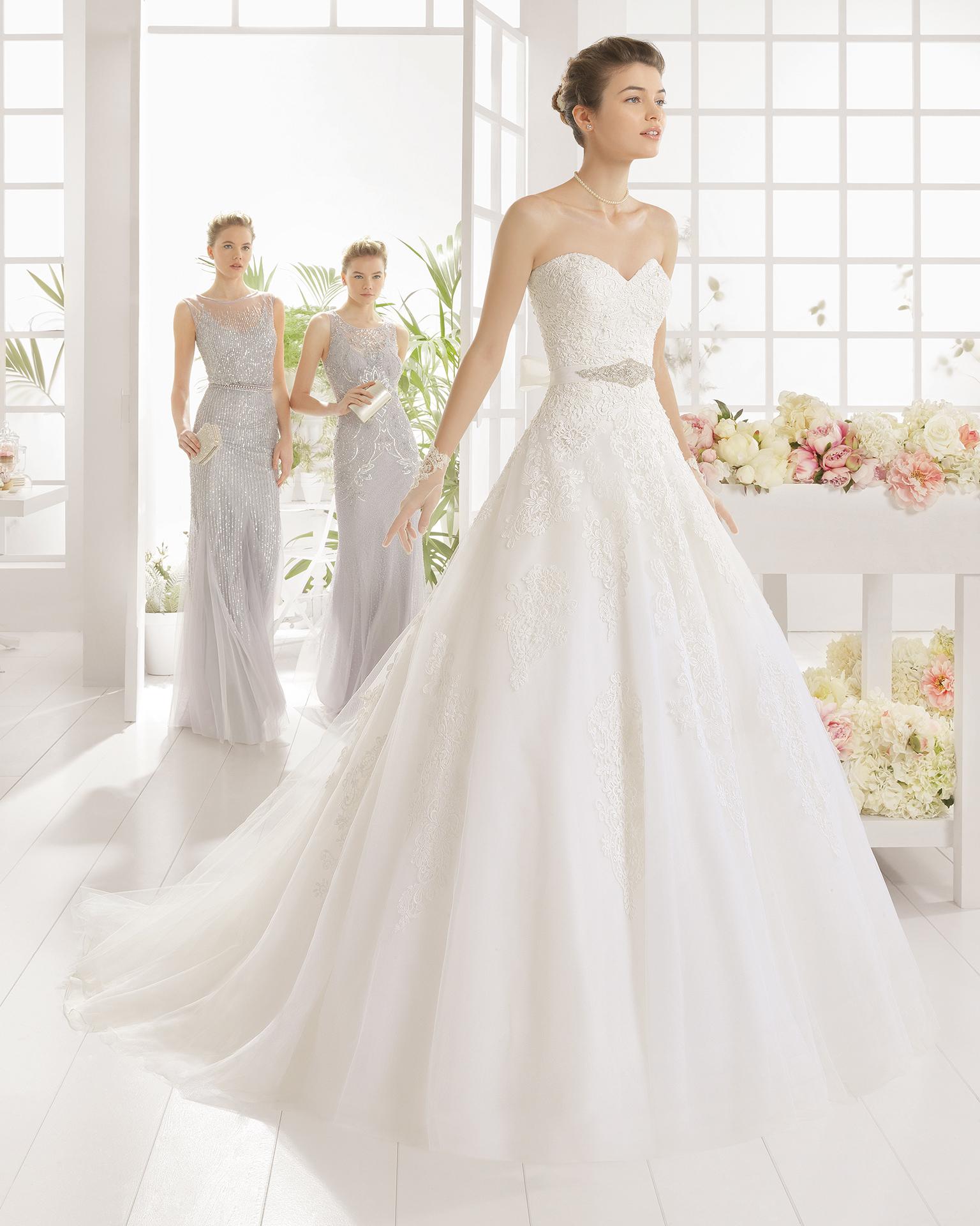 MIXTO wedding dress - Aire Barcelona 2016.