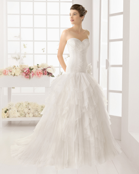 OREGON vestido de novia de Aire Barcelona 2016