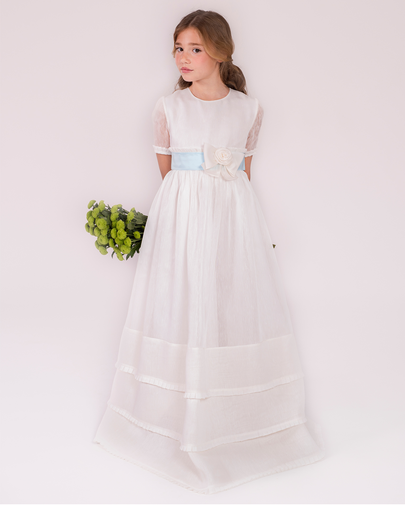 90140 ballgown-style First Communion dress