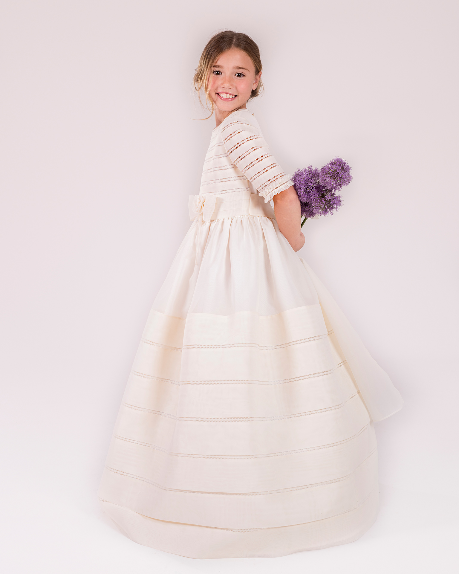 90141 ballgown-style First Communion dress