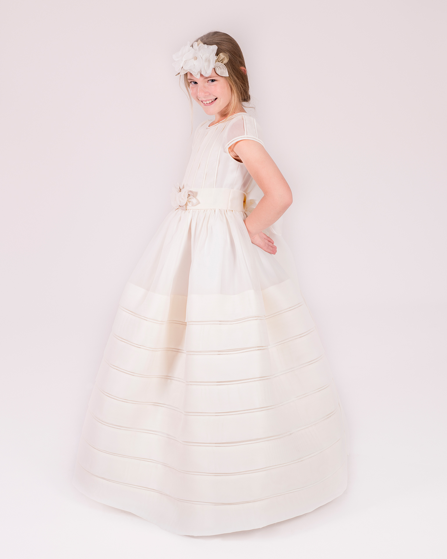 90143 ballgown-style First Communion dress