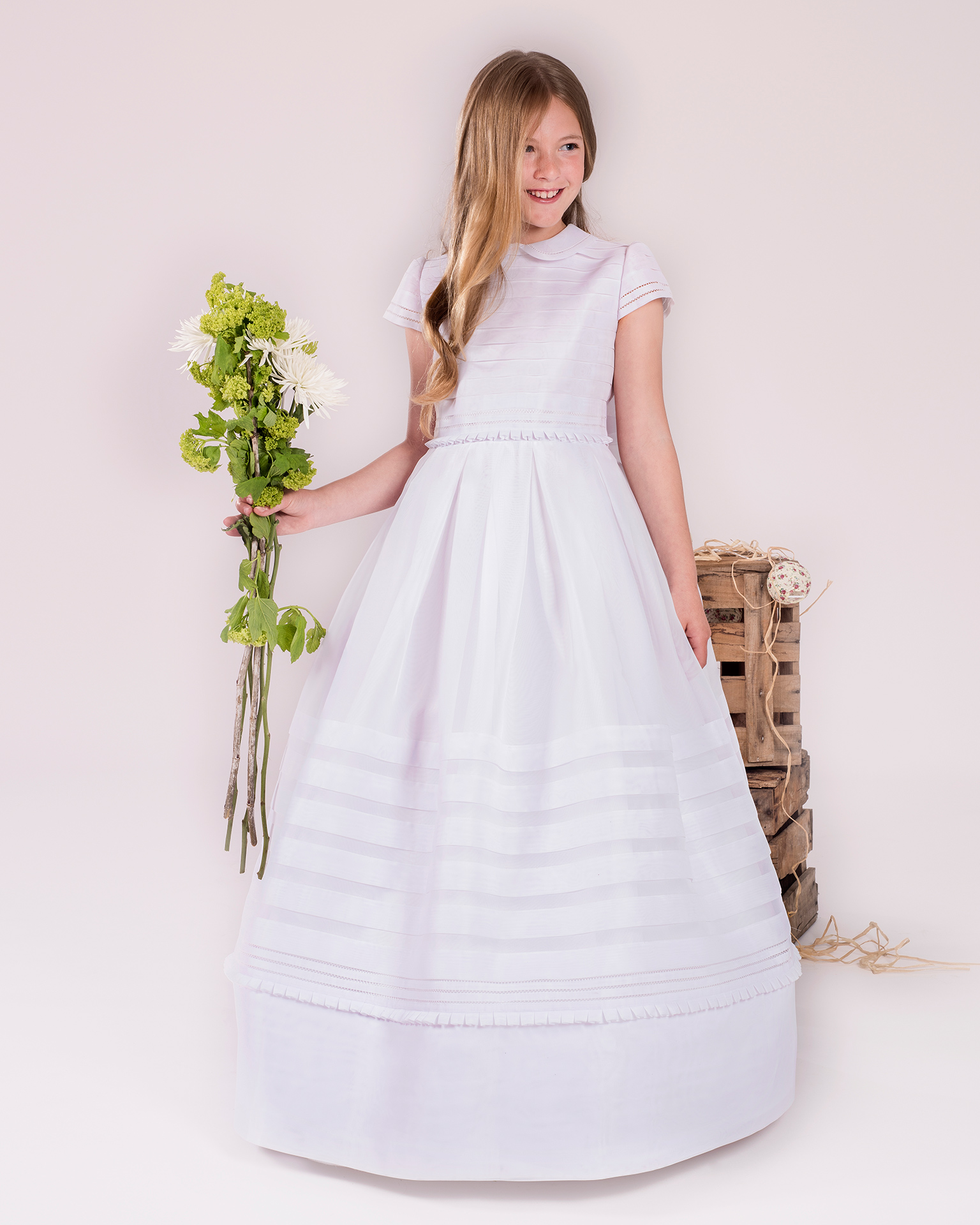 90145 ballgown-style First Communion dress