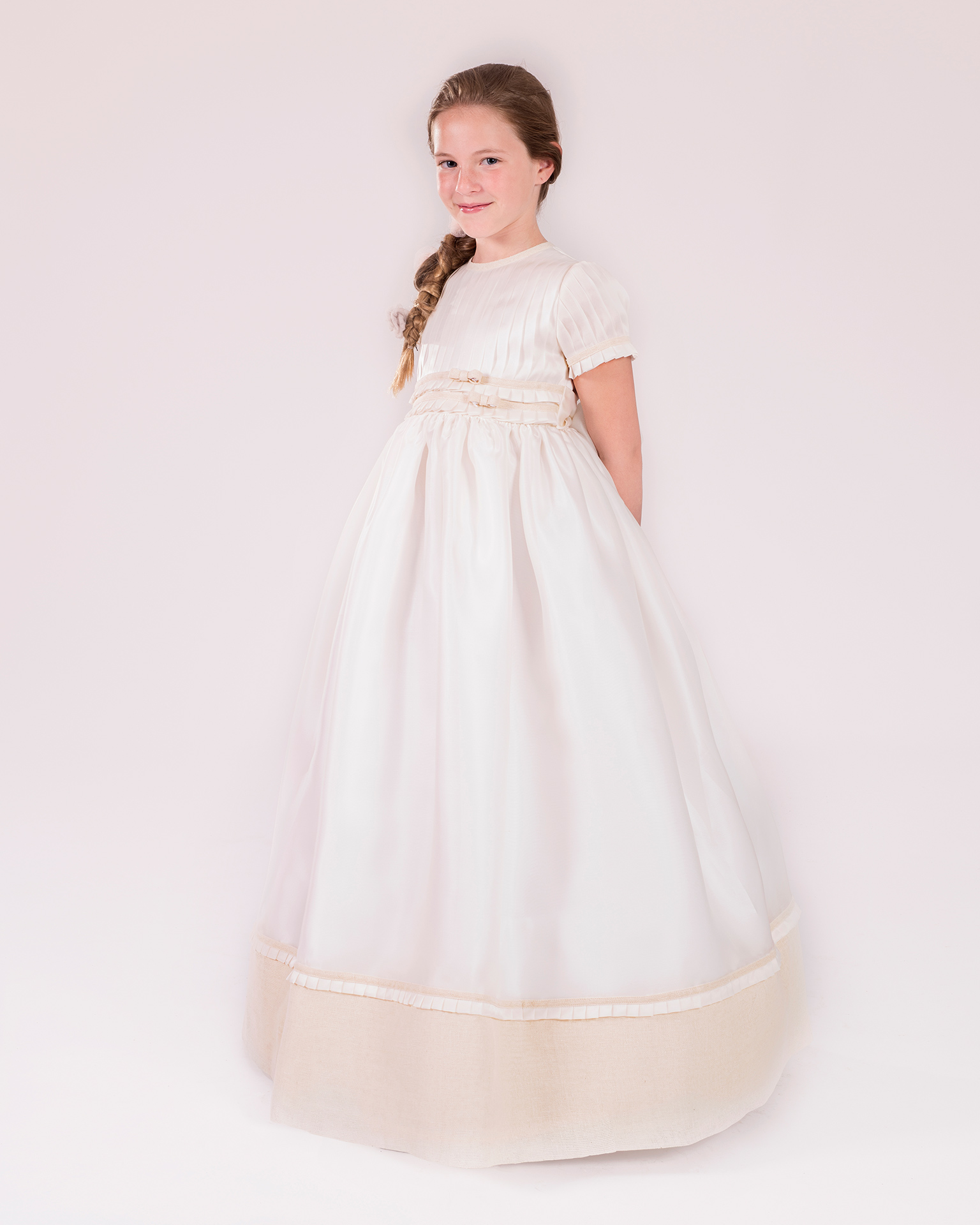 90146 ballgown-style First Communion dress