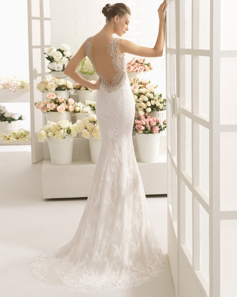 CABALA vestido de noiva Aire Barcelona 2017