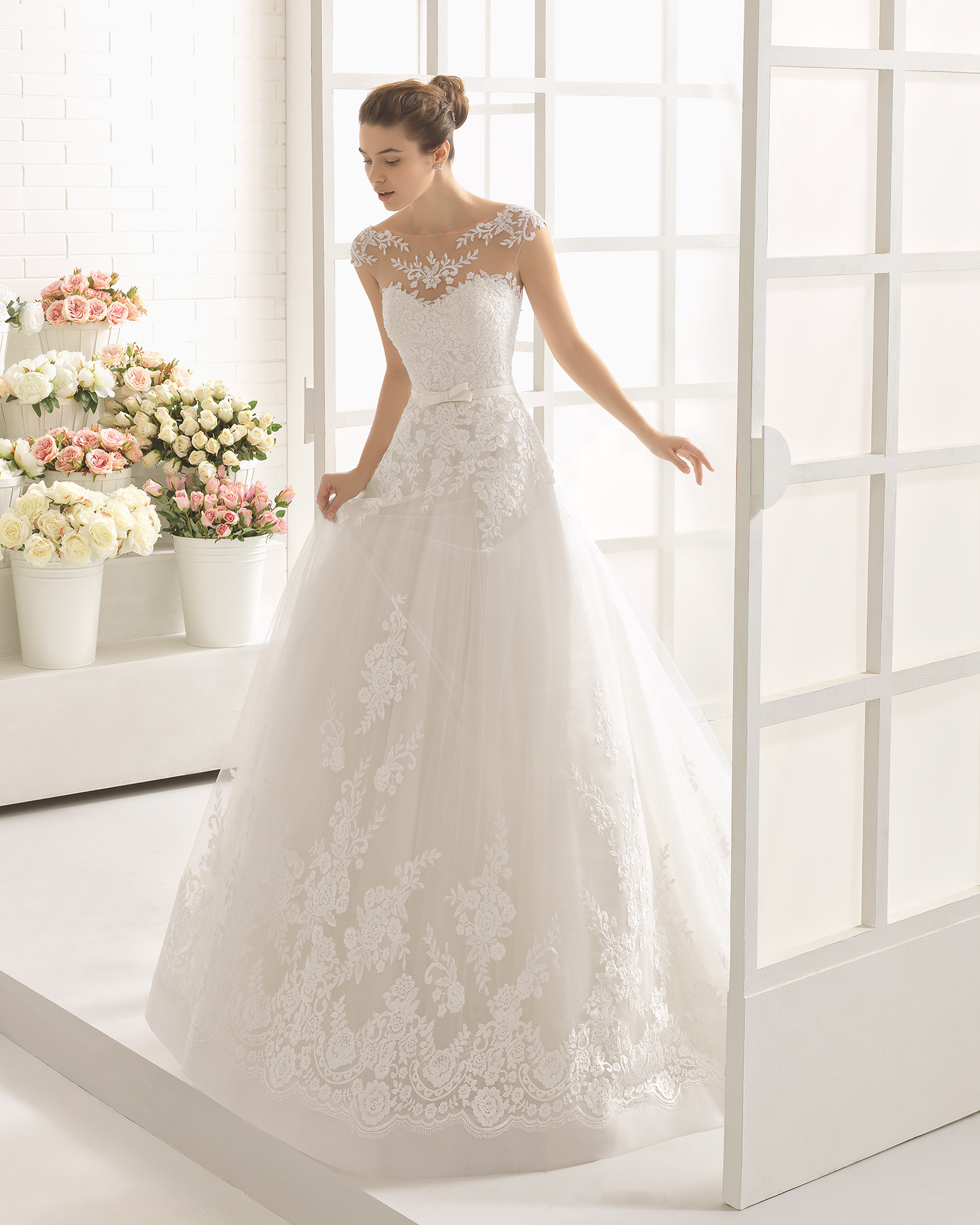 CALINA wedding dress - Aire Barcelona 2017