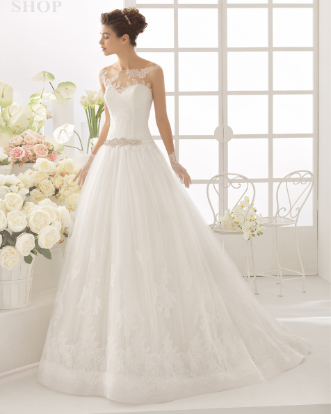 CALIPSO wedding dress - Aire Barcelona 2017