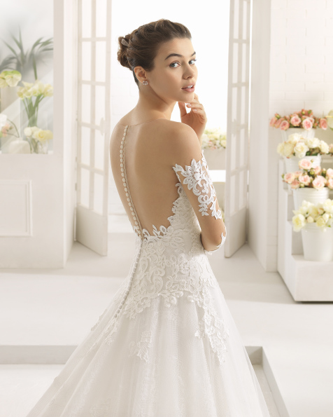 فستان زفاف CALISTA من Aire Barcelona 2017