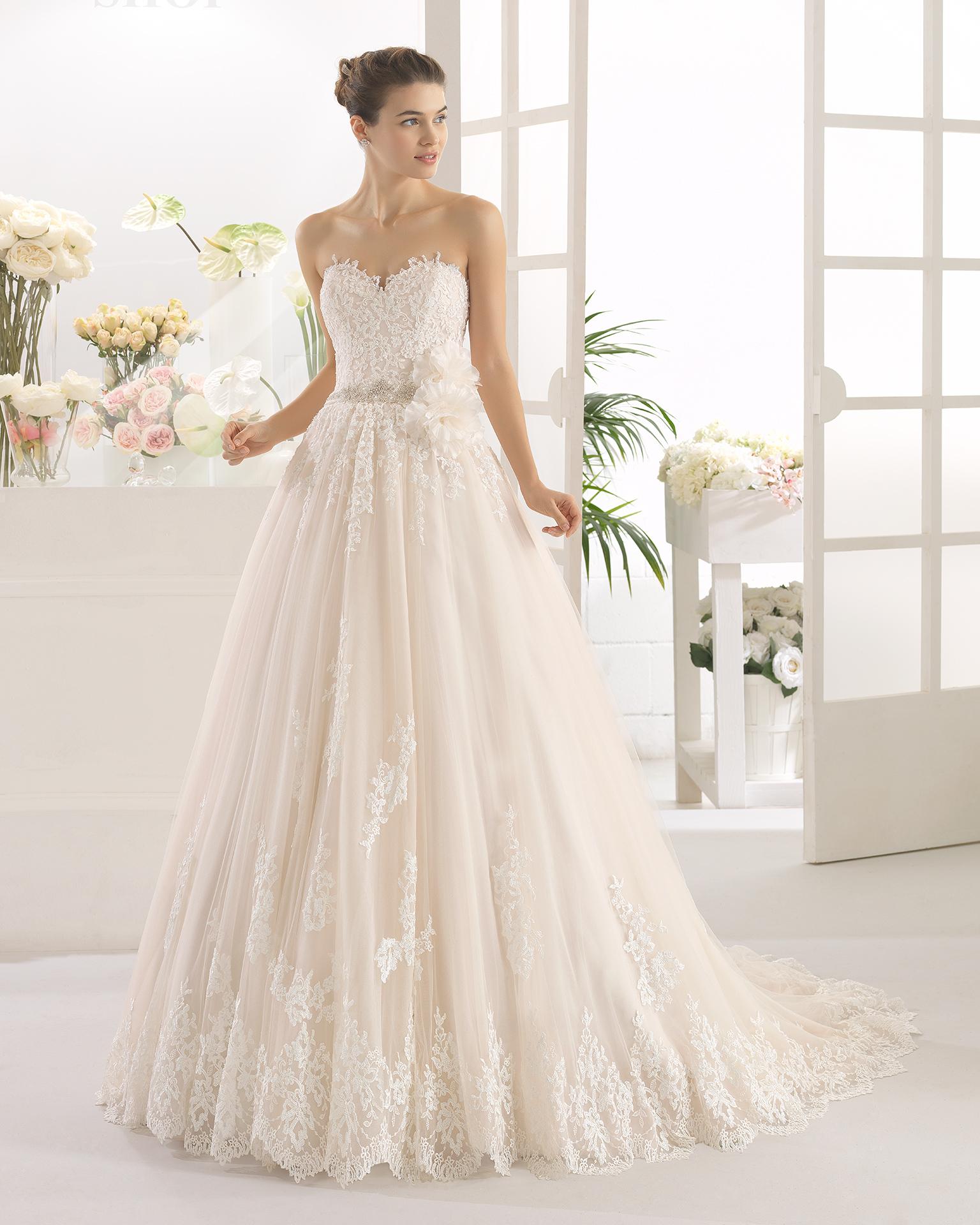 CALON robe de mariée Aire Barcelona 2017
