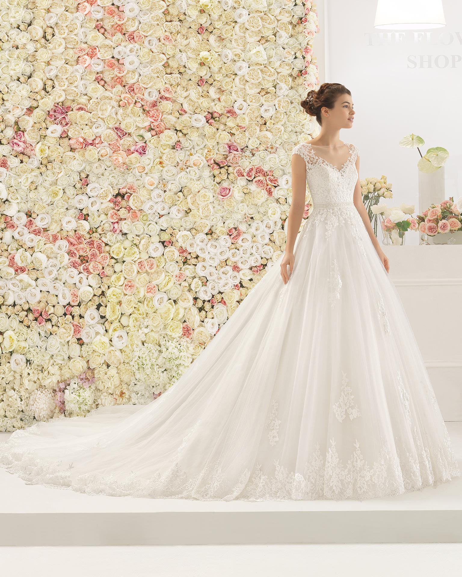 CAMBER vestido de novia Aire Barcelona 2017
