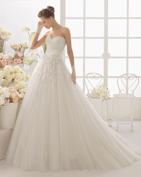 فستان زفاف CAMPAL من Aire Barcelona 2017