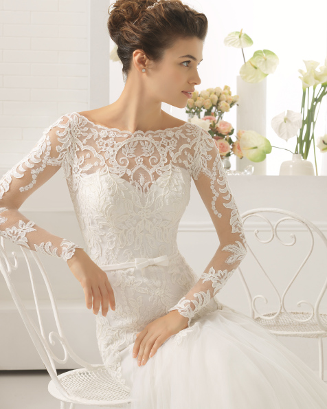 CANDIM wedding dress - Aire Barcelona 2017