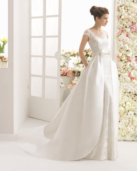 CARIZ Abito da sposa Aire Barcelona 2017