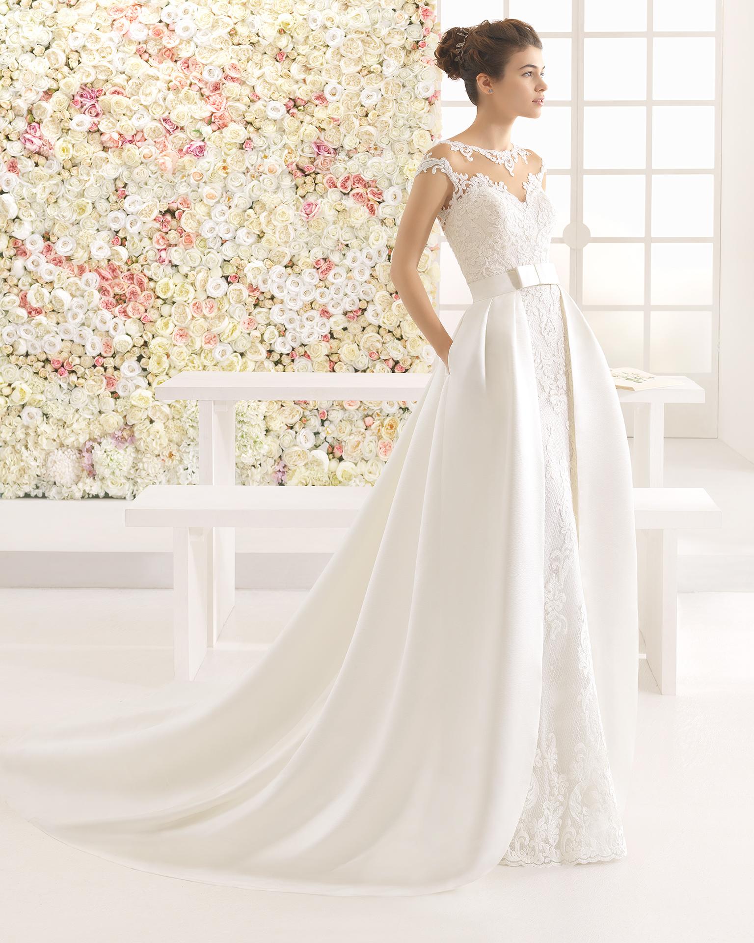 CARLO vestido de novia Aire Barcelona 2017